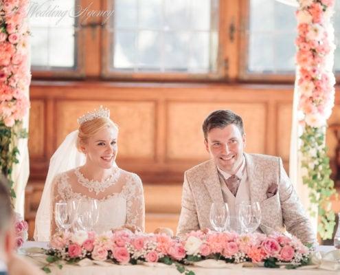 Wedding in the Pruhonice Castle