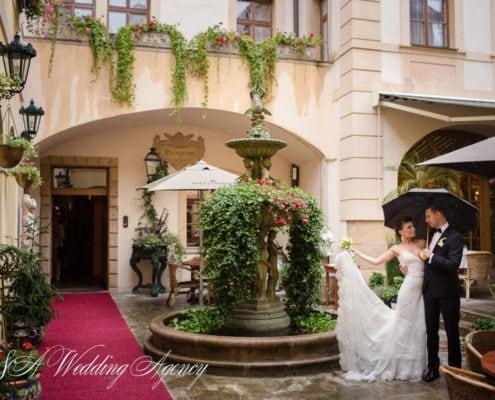 Marina & Serge in Dobris Castle