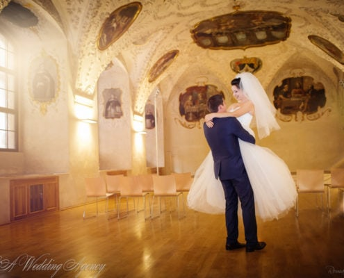 Wedding in Baroque Refektory