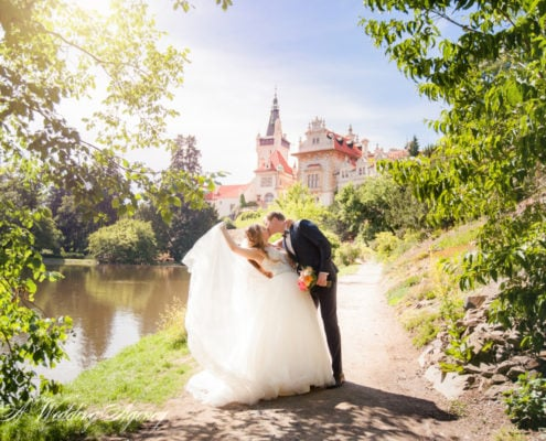 Wedding in the Pruhonice Castle