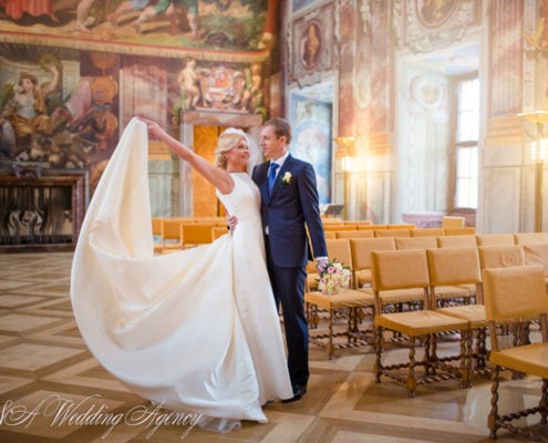 Weddings in the Troja Château