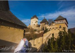 Wedding in the Karlstejn Castle