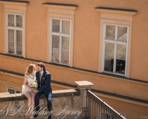 Wedding in the Vrtbovska Gardens