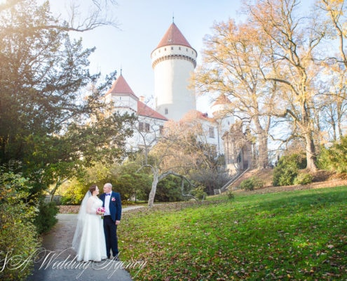 Vladi & Olga in Konopiste Castle