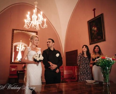 Shlomo & Natali in the castle Brandys nad Labem