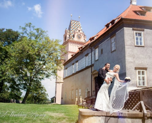 Shlomo & Natali in the castle Brandys nad Labem