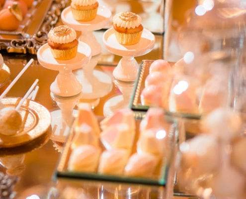 Exclusive wedding in Prague - candy bar