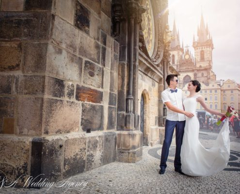 Alex & Elvira in the Old Town Hall