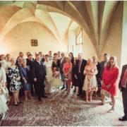 Pieter & Dari in the Karlstejn Castle