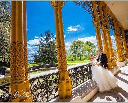 Val & Juli in the Hluboka Castle
