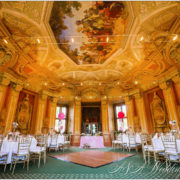 Wedding in Baroque chateau