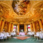 Wedding in Baroque chateau