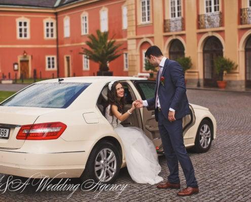 Wedding transportation