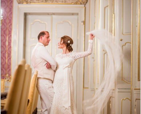 Wedding in Kaunicky Palace