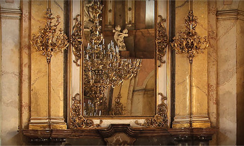 Wedding in the Colloredo-Mansfeld Palace