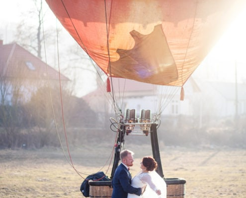 Wedding in a Hot Air Balloon