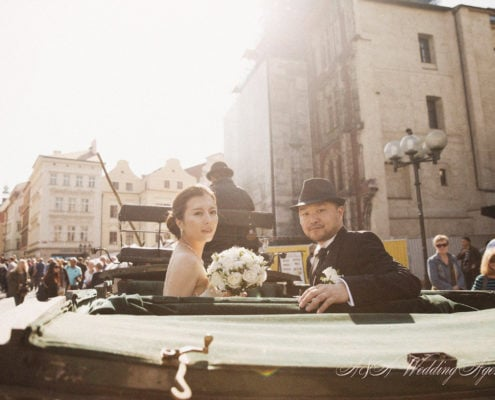 Church wedding in Prague