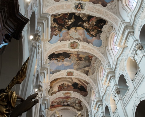 Catholic ceremony Prague